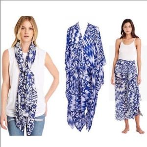 Michael Stars Ruana scarf, sarong or beach coverup